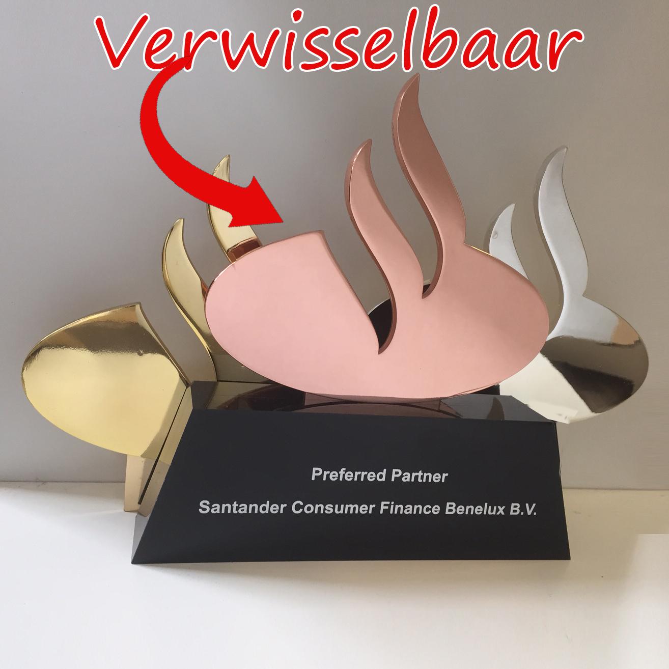 Awards op maat voor Santander