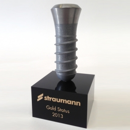 3D printed metal awards