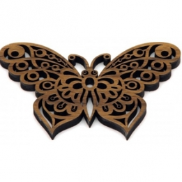 Butterfly cut out of wood